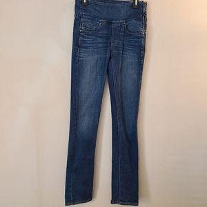 Spanx The Signature Straight Medium Wash Jeans